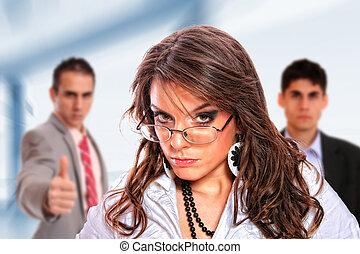 Portrait of a business team