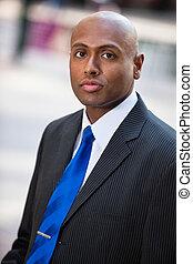 Portrait of a businessman - Portrait of an African American...