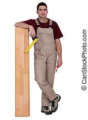 portrait of a carpenter