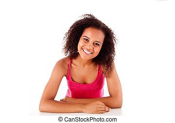 Portrait of a confident african woman