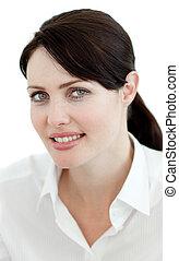Portrait of a confident businesswoman