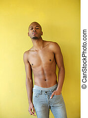 Portrait of a cool black guy