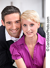 portrait of a couple