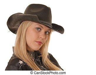 Portrait of a Cowgir