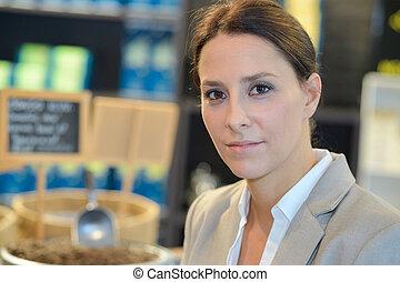 portrait of a female businesswoman