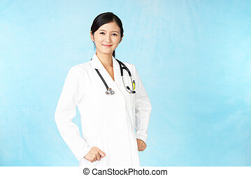 Portrait of a female doctor