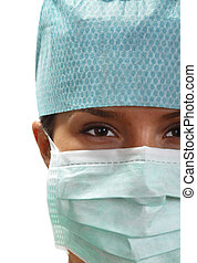 Portrait of a female surgeon
