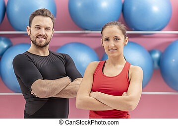 Portrait of a Fit Couple
