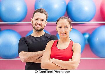 Portrait of a Fit Couple