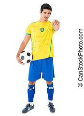 Portrait of a handsome Brazilian