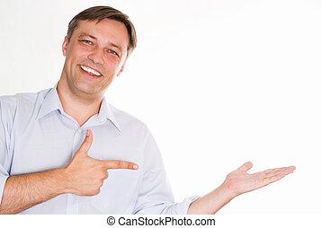 Portrait of a happy businessman