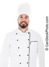 Portrait Of A Happy Chef