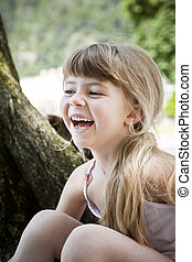 Laughing Girl