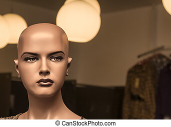 Portrait of a Mannequin