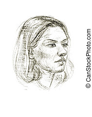 Portrait of a pencil