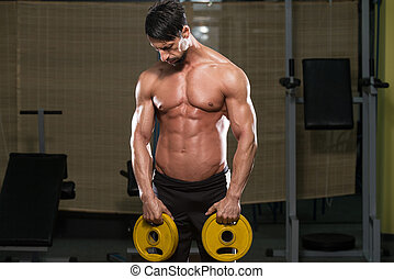 Portrait Of A Physically Fit Man
