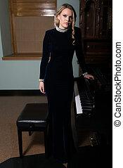 Portrait of a Piano Pianist