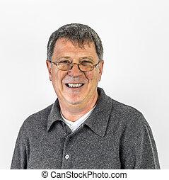 Portrait of a positive man