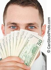 Portrait of a rich businessman