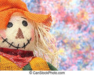 Scarecrow - Portrait of a Scarecrow.