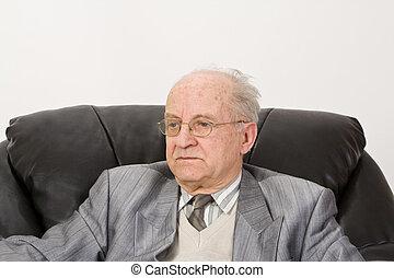 Portrait of a senior businessman