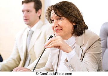 Portrait of a senior businesswoman