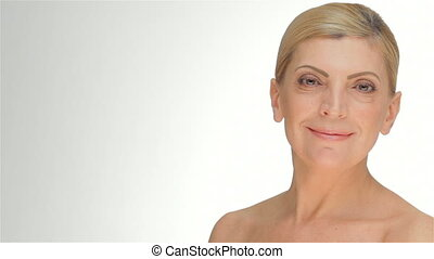 Portrait of a smiling middle-aged women