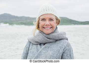 Portrait of a smiling senior woman