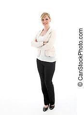 Portrait of a stylish professional woman