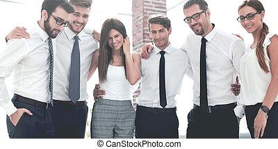 portrait of a successful business team