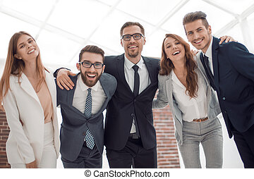 portrait of a successful young business team