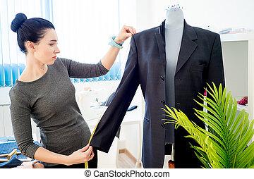 Portrait of a tailor