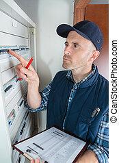 portrait of a technician