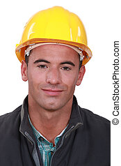 Portrait of a tradesman