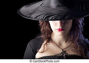 Witch with Hat