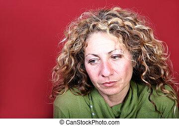 Portrait of a woman - Digital photo of a woman.
