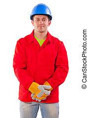 portrait of a worker