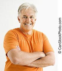 Portrait of adult man.
