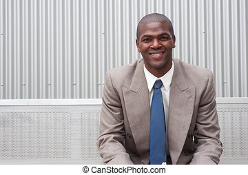 portrait of an African American businessman