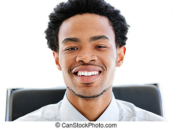 Portrait of an afro-american businessman