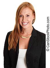 Portrait of an attractive businesswoman