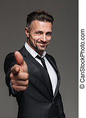 Portrait of an attractive mature businessman