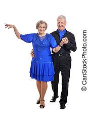 Portrait of an older couple