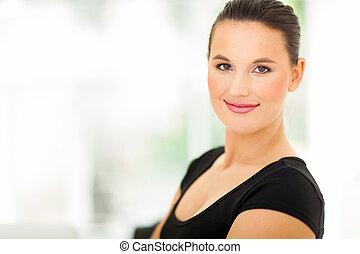 attractive businesswoman
