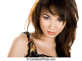 portrait of beautiful Asian woman