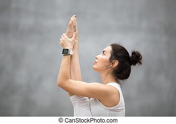 Portrait of Beautiful Yoga woman