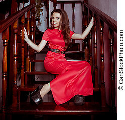 f78f481680 Asian fashion model girl in official clothes. Asian executive woman ...