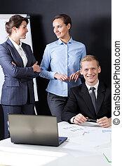 Portrait of businesspeople