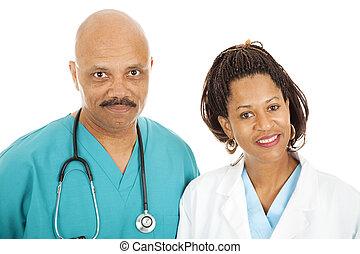 Portrait of Caring Doctors