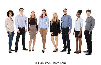 Portrait Of College Students - Portrait Of Happy College...